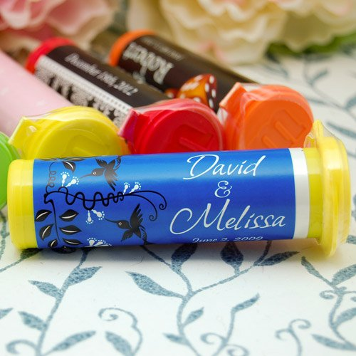Wedding M&M Minis Tubes