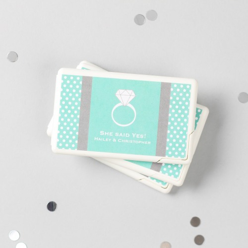 Personalized Engagement Mini Mint Packs