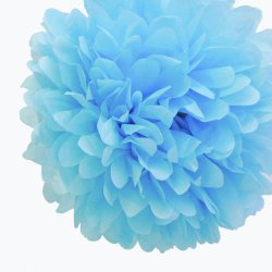Tissue Paper Pom Poms