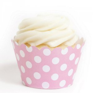 Polka Dot Cupcake Wrappers