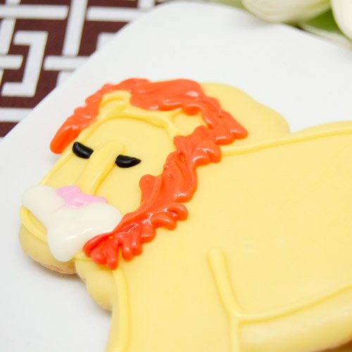 Lion Animal Cookie