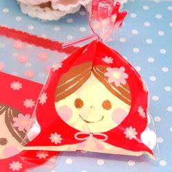 Cellophane Matryoshka Gift Bags