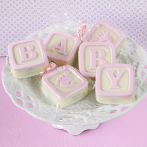 Baby Blocks White Chocolate Covered Oreo Cookies