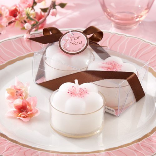 Cherry Blossom Flower Tea Lights