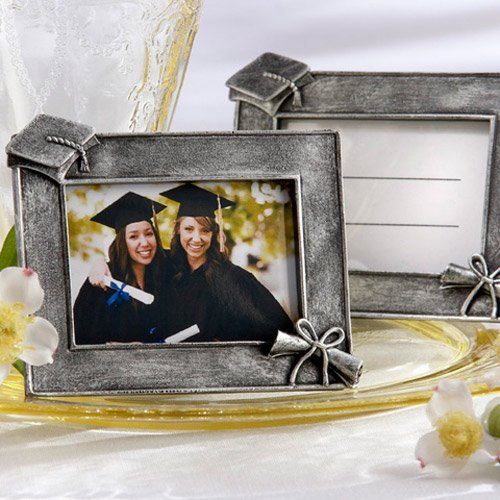 Graduation Antique Finish Photo Frame Place Card Holders