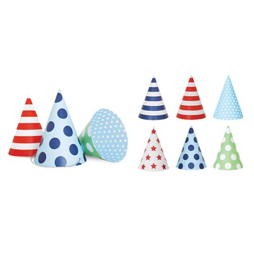 Blue Party Hats