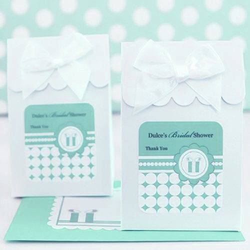Personalized Something Blue Candy Bags