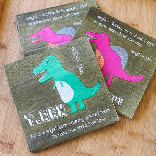 Dinosaur 2 Party Napkins