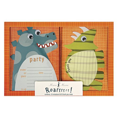 Dinosaur Party Invitations and Thank You Notes
