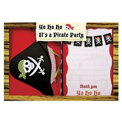 Pirate Party Invitations and Thank You Notes
