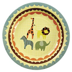 Animal Parade Party Plates
