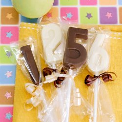 Birthday Number Chocolate Lollipop