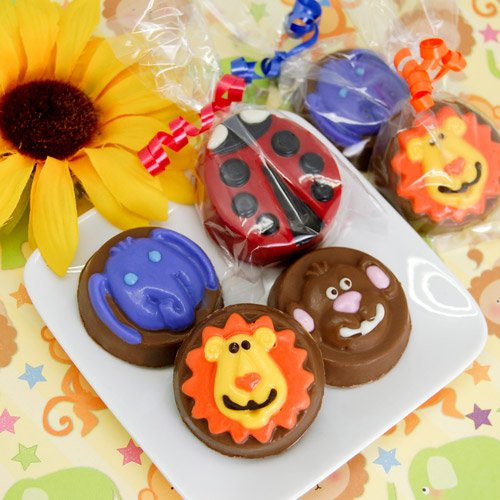 Animal Themed Chocolate Covered Oreo Cookies