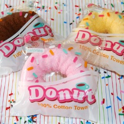 Donut Towel Favor