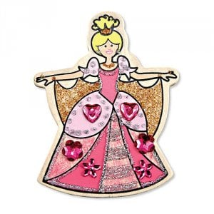 Decorate Your Own Wooden Princess Magnets