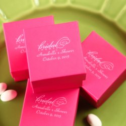 Personalized 2-Piece Square Favor Boxes