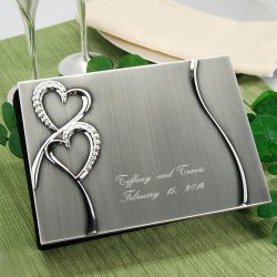 Sparkling Love Personalized Guest Book
