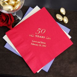 Personalized Beverage Napkins