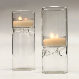 Blown Glass Mini Tea Light Luminaries