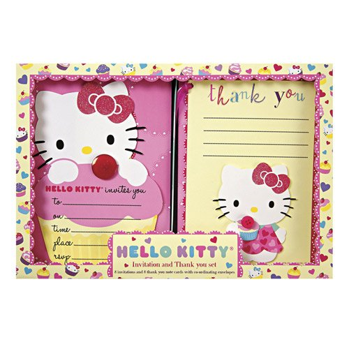 Kitty Party Invitations and Thank You Notes – Hello Kitty Party Invitation