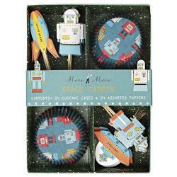 Space Robot Party Cupcake Kit