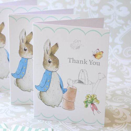 Peter Rabbit Party Thank You Notes