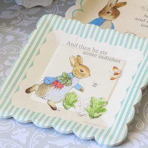 "Peter Rabbit Party 7"" Plates"