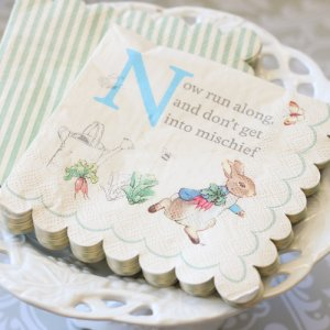 "Peter Rabbit Party 5"" Napkins"