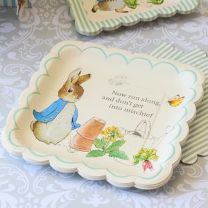 "Peter Rabbit Party 10"" Plates"