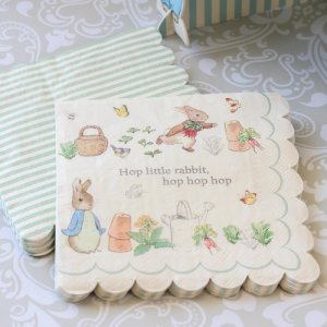 "Peter Rabbit Party 7"" Napkins"