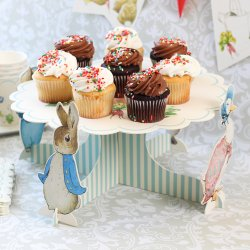 Peter Rabbit Cupcake Centerpiece
