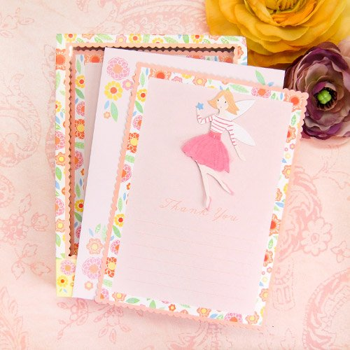 Fairy Magic Party Thank You Notes