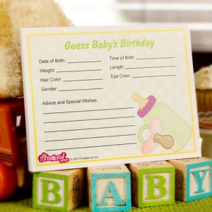 """Guess Baby's Birthday"" Game"
