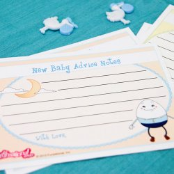 New Baby Advice Notes