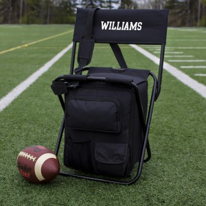 Personalized Tailgate Backpack Cooler Chair