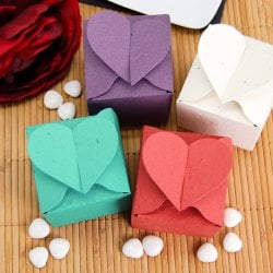 Heart Plantable Favor Box