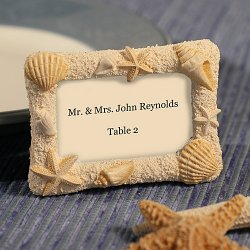 Beach Themed Place Card Holder/Frame
