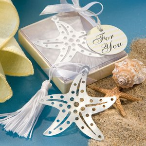 Starfish Bookmark Favor