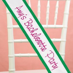 Personalized Custom Bride Sash