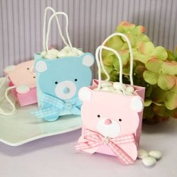 Mini Teddy Bear Favor Bag