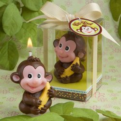 Monkey Candle Favor