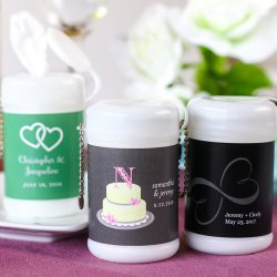 Personalized Mini Wet Wipes