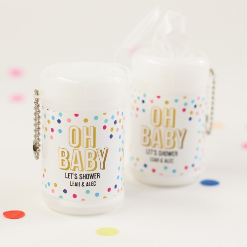 Personalized Oh Baby Wet Wipes