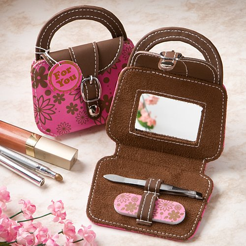 Pink Mini Handbag Beauty Kit