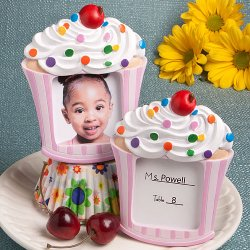Cupcake Picture Frame/Place Card Holder