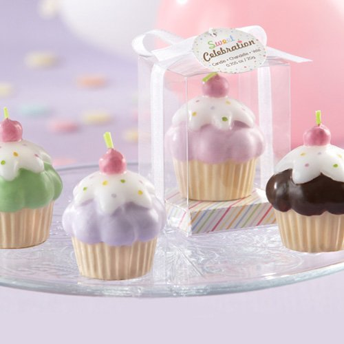 Frosted Cupcake Candles