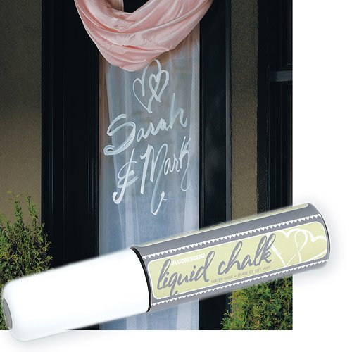 Liquid Chalk Wedding Marker