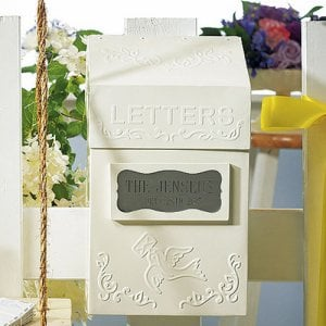 Personalized Letter Box