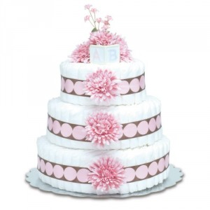 Three-Tier Diaper Cakes