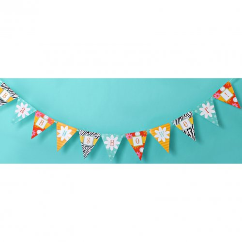 Bold Baby Bliss Blue Banner